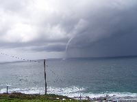 Waterspout off Newcastle - September 2004
